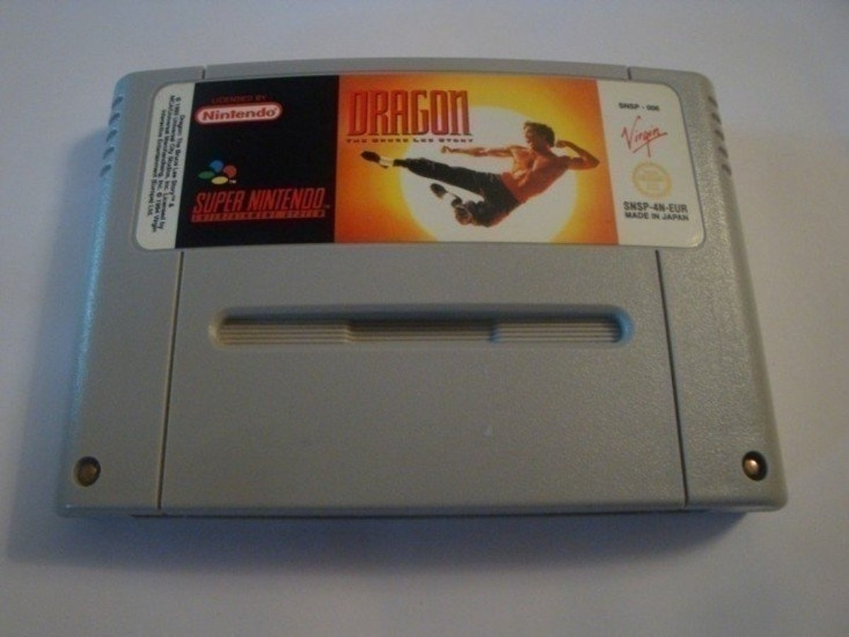 Dragon the Bruce Lee Story - Super Nintendo [SNES] Game [PAL]
